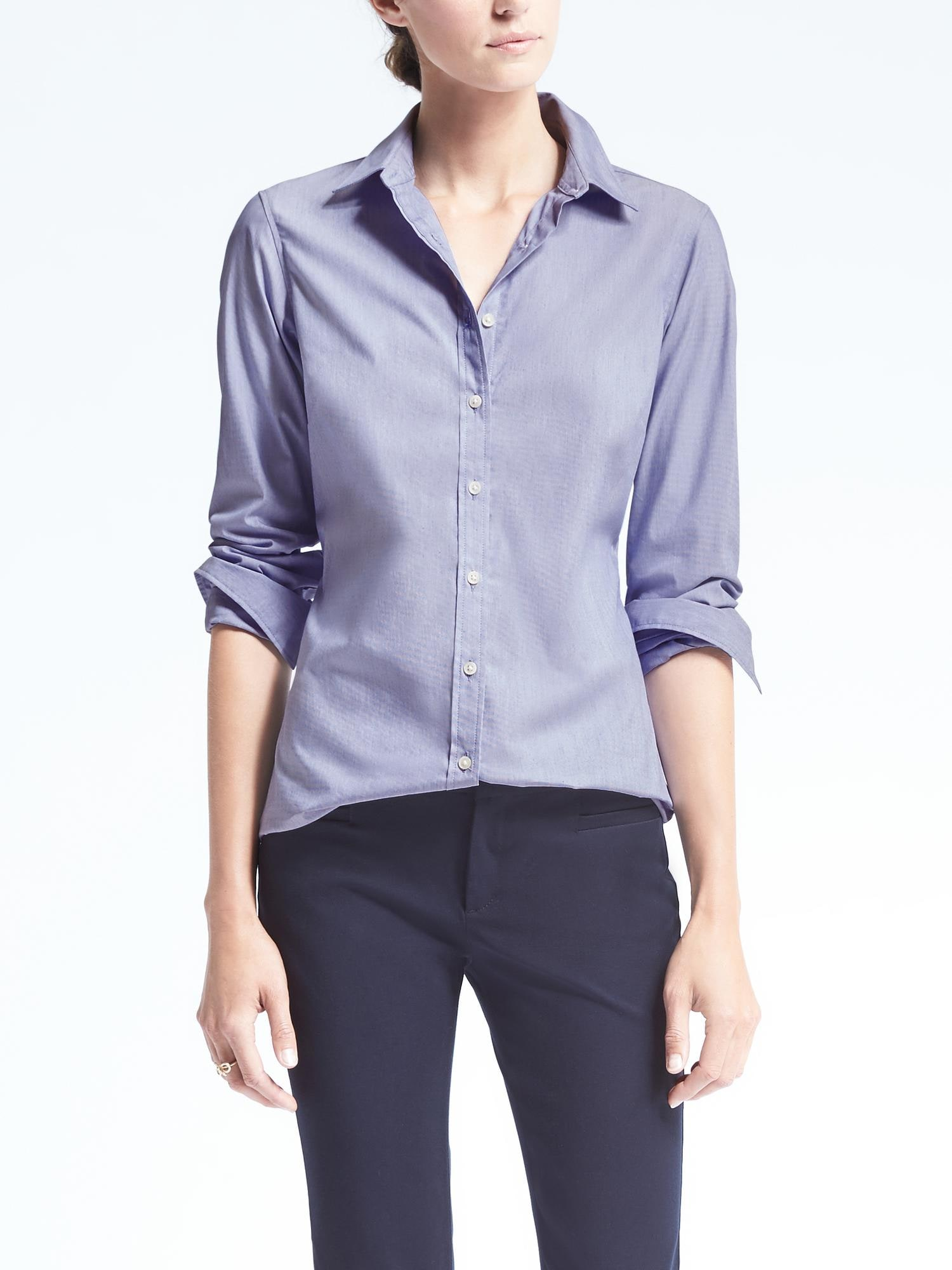 a23c2946f86cd Riley Tailored-Fit Solid Shirt ...