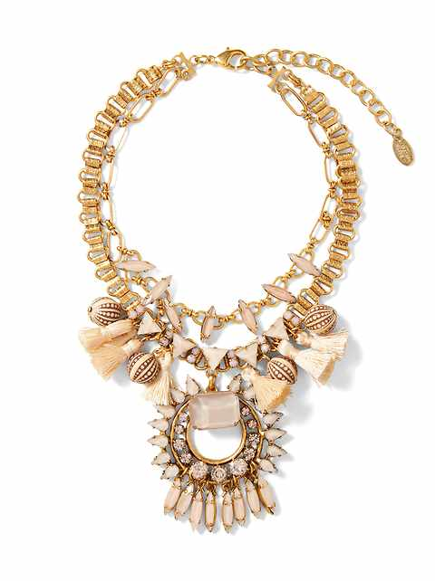Elizabeth Cole &#124 Priscilla Necklace
