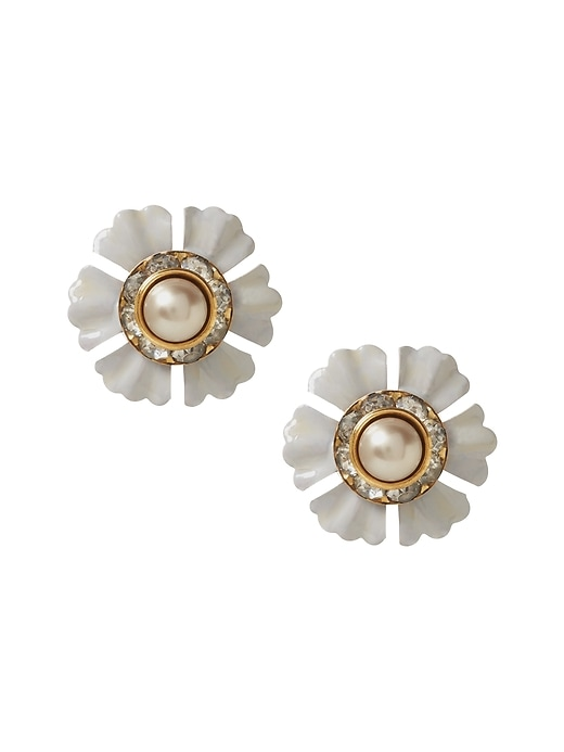 Banana Republic Womens Elizabeth Cole   Limited Edition Crystal Stud Earring Crystal Size One Size