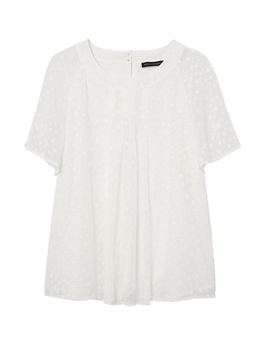 Banana Republic Womens Flutter-Sleeve Top White Size XS