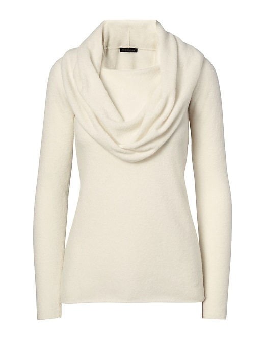 Banana Republic Womens Merino Blend 2-In-1 Sweater Cocoon Size XS