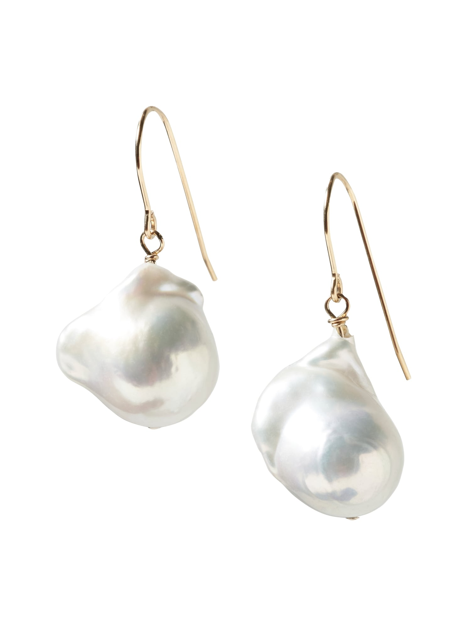 champagne pacificpearl shop pearls collection giant earrings on gold rose rakuten polynesia pink baroque pacific pearl product