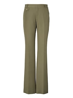 Petite Logan Trouser-Fit Bi-Stretch Pant