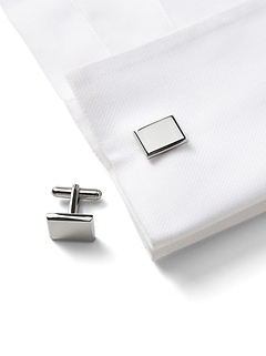 Classic Rectangular Cufflinks