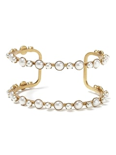 Elizabeth Cole &#124 Simple Pearl Bracelet