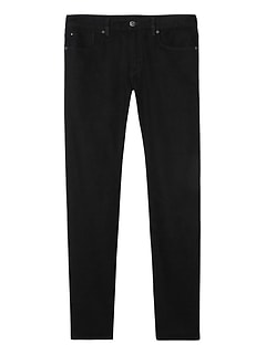 Slim Black Japanese Traveler Jean