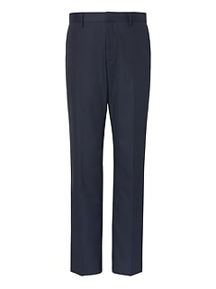 Slim Non-Iron Stretch Cotton Solid Pant