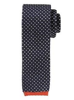 Birdseye Silk Knit Tie
