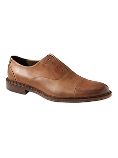 Clyve Laceless Leather Oxford