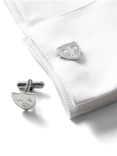 Giles & Brother &#124 Shield Cufflinks