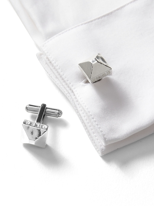 Giles & Brother &#124 Pyramid Cufflinks