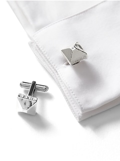 Giles & Brother | Pyramid Cufflinks