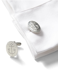 Giles & Brother &#124 Anchor Cufflinks