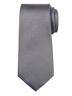 Textured Grid Silk Nanotex® Tie