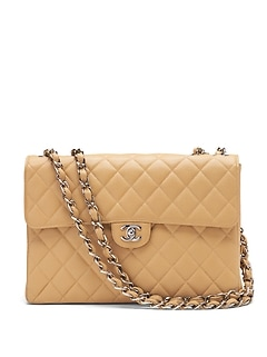LUXE FINDS | Chanel Classic Caviar Jumbo Flap Bag