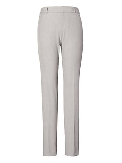 Ryan Slim Straight-Fit Machine-Washable Birdseye Pant