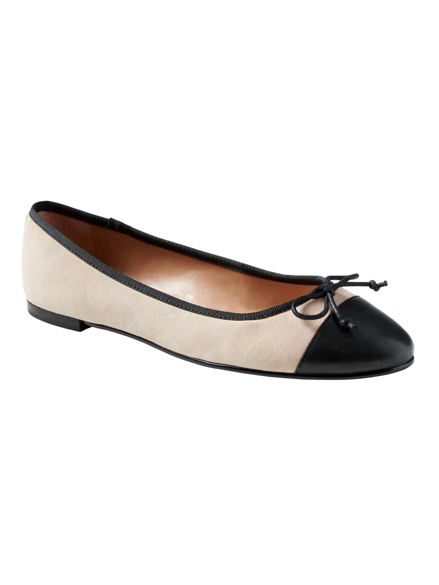 Banana Republic Womens Square-Toe Flat Suede Size 10 6b1JynjL