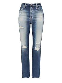 AG Jeans &#124 Isabelle Straight Crop Jean