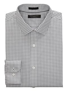 Camden Standard-Fit Non-Iron Gingham Shirt