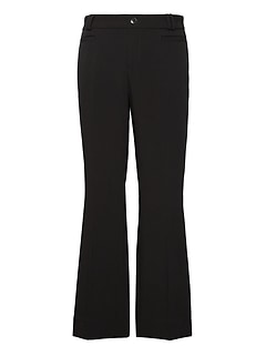 Logan Trouser-Fit Cropped Bi-Stretch Pant