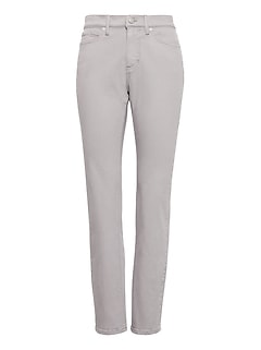 Slim-Straight Gray Wash Jean