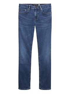 Slim Rapid Movement Denim Medium Wash Jean