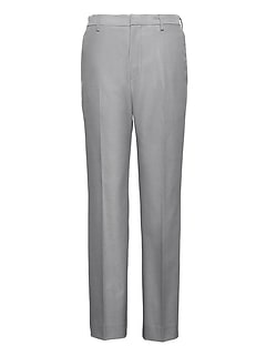 Athletic Tapered Non-Iron Stretch Cotton Texture Pant