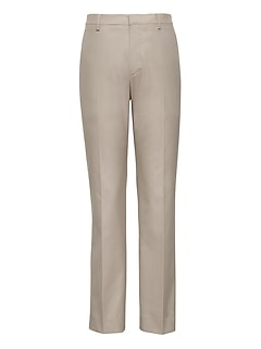 Slim Non-Iron Stretch Cotton Texture Pant