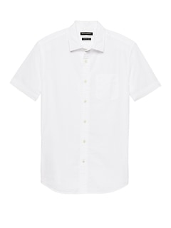 Grant Slim-Fit Seersucker Shirt
