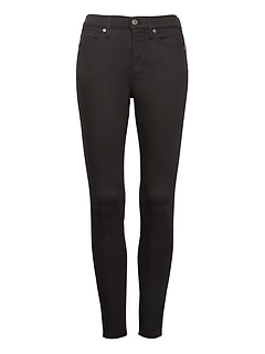 High-Rise Legging-Fit Luxe Sculpt Stay Black Ankle Jean