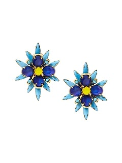 Elizabeth Cole &#124 Forget Me Knot Clip-On Earring