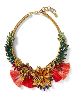 Elizabeth Cole &#124 Tropical Necklace