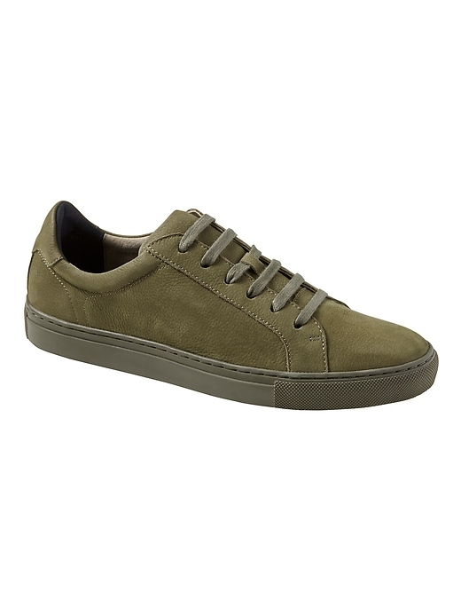 Nicklas Nubuck Leather Sneaker by Banana Repbulic