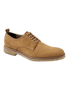 Dewitt Suede Crepe-Sole Oxford
