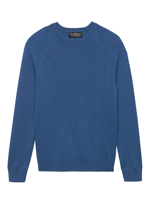 Todd & Duncan Cashmere Crew-Neck Sweater