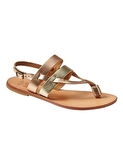 Banana Republic Womens Joie Mamie City Sandals Chocolate Size 6 WauAm