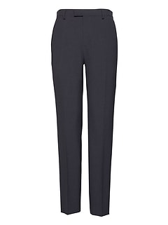 Athletic Tapered Smart-Weight Performance Wool Blend Seersucker Suit Pant