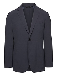 Standard Smart-Weight Performance Wool Blend Seersucker Suit Jacket