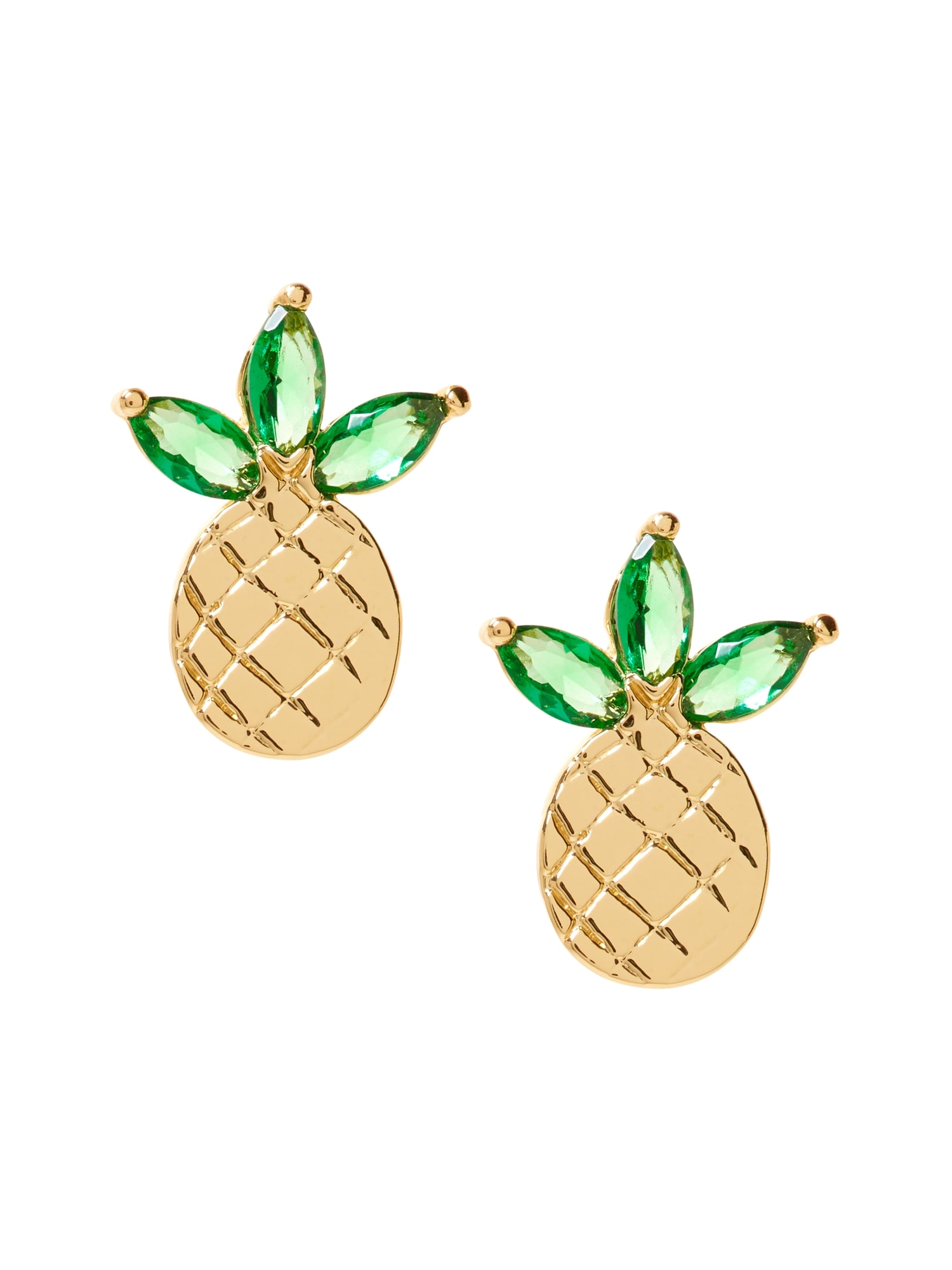 silver earrings stud products sweetpeastore fabulous pineapple