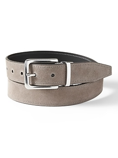 Reversible Suede Belt