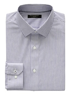 Camden Standard-Fit Non-Iron Stripe Shirt