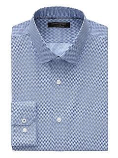 Camden Standard-Fit Non-Iron Print Shirt