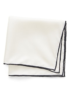 Solid Silk Pocket Square
