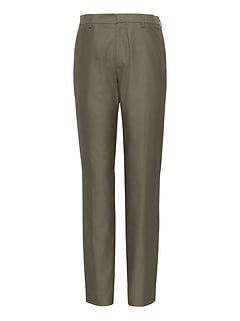 Athletic Tapered Non-Iron Stretch Cotton Pant