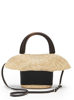 Eugenia Kim | Evie Mini Straw Bag