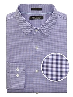 Grant Slim-Fit Non-Iron Check Shirt