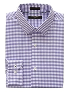 Camden Standard-Fit Non-Iron Gingham Dress Shirt
