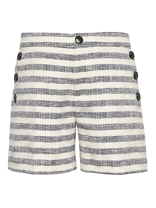 "Tweed Stripe 5"" Sailor Short by Banana Repbulic"