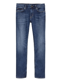 Slim LUXE Traveler Dark Wash Jean