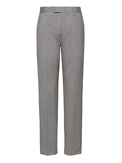 Slim Performance Stretch Wool Dress Pant
